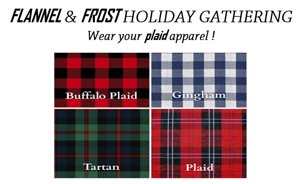 Flannel and Frost Holiday Party