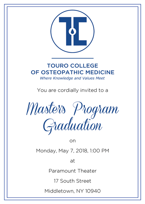 middletown master of science class of 2018 commencement ceremony