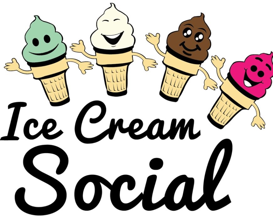 Ice Cream Social and One School One Book