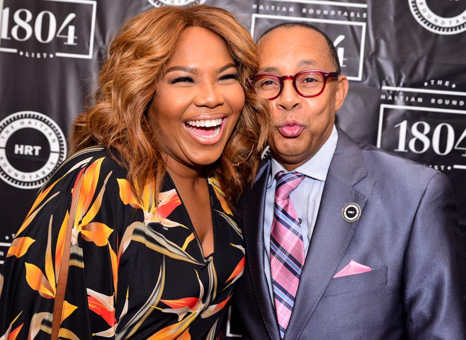 (L-R) Mona Scott-Young and Dr. Jeff Gardere. Photo Credit: David Paul