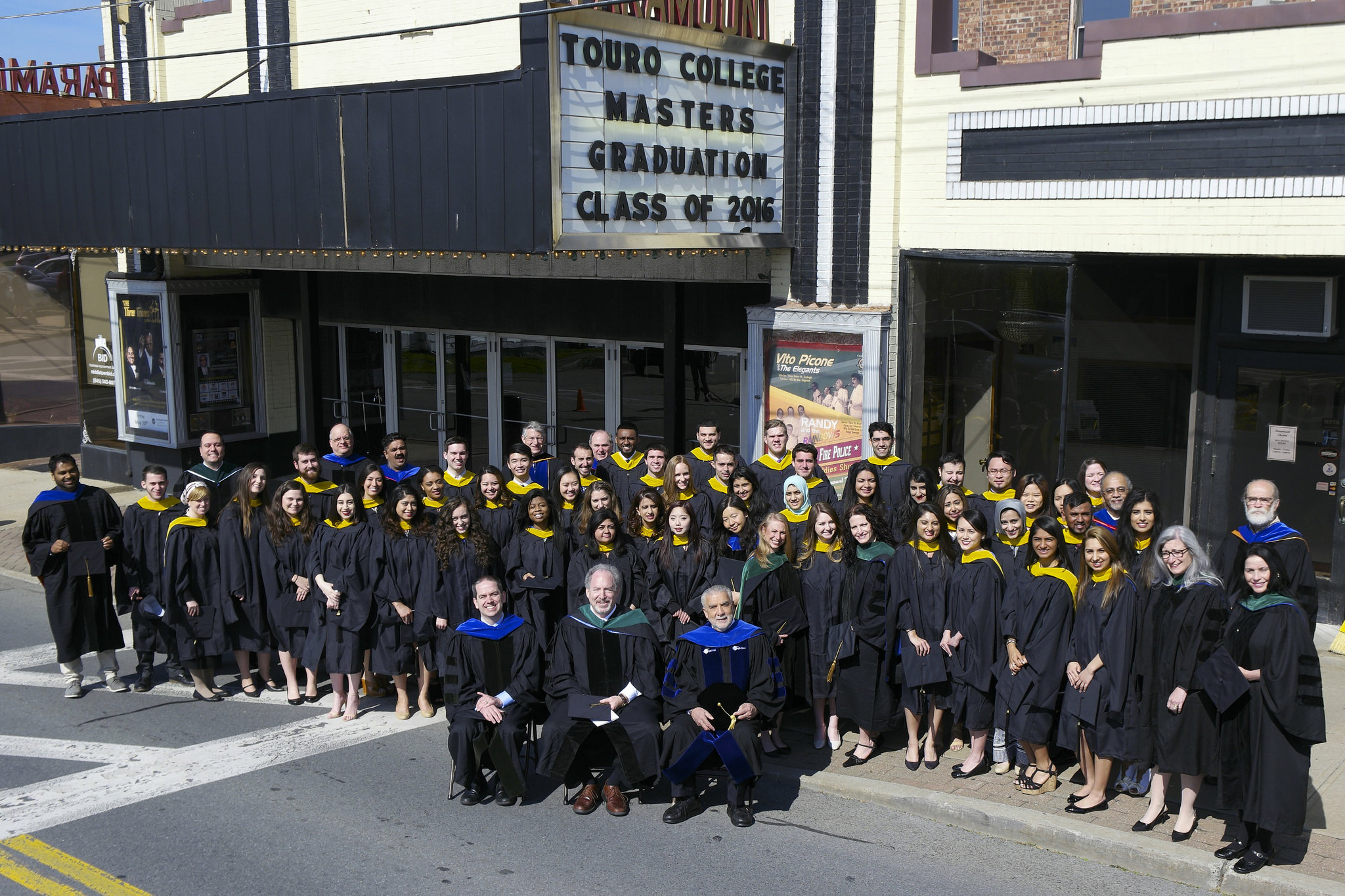 The TouroCOM-Middletown master of science class of 2016 commencement
