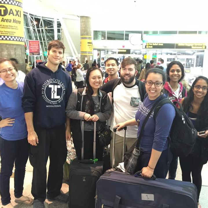 Students from TouroCOM-Middletown's International Medicine Club visited Nicaragua this summer on a medical mission.
