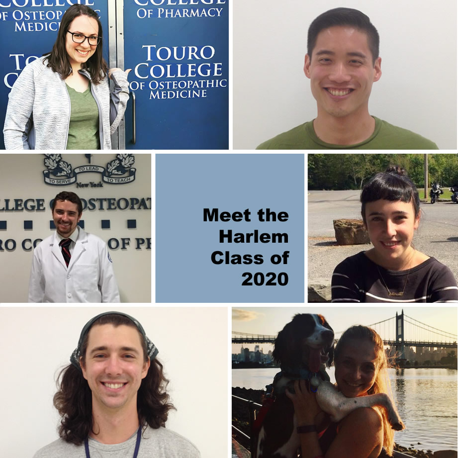 Meet the new class of 2020 students on the TouroCOM-Harlem campus