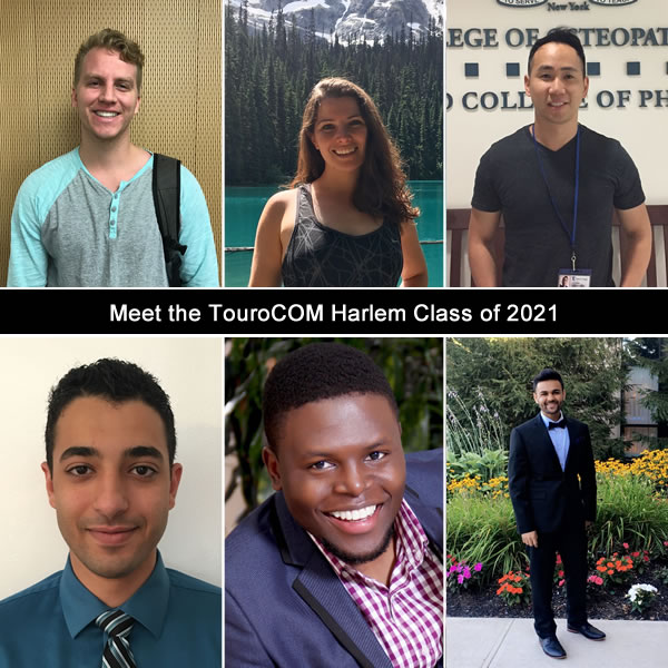 Meet some of the new students at Touro College of Osteopathic Medicine, Harlem Campus, Class of 2021