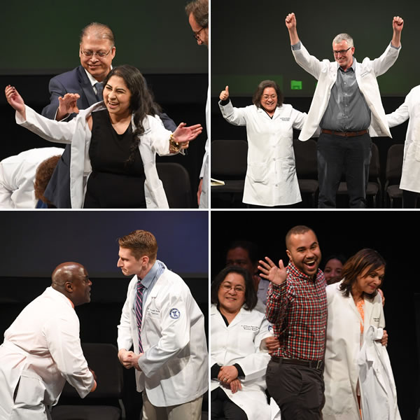 Touro College of Osteopathic Medicine white coat ceremony for the class of 2019