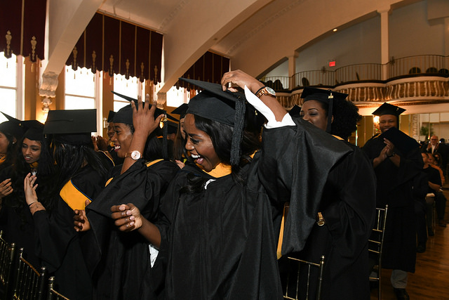 TouroCOM Master\'s Class of 2018 Commencement (Harlem campus)