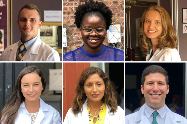 Meet Stephen, Shanice, Lea, Karolina, Meyling, and Joshua, six of the new students that make up the TouroCOM Middletown class of 2022.