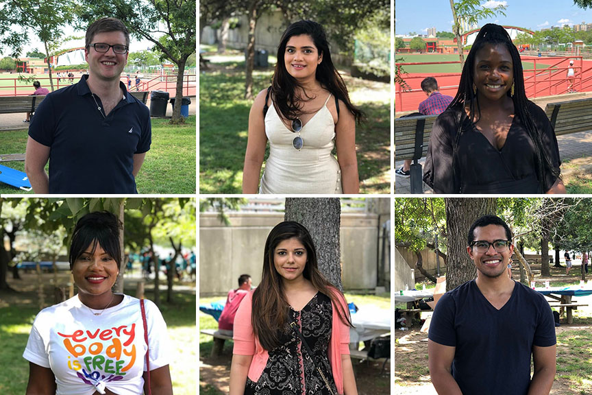 Meet some of the new OMS-1 students on the TouroCOM Harlem campus that make up the Class of 2023.