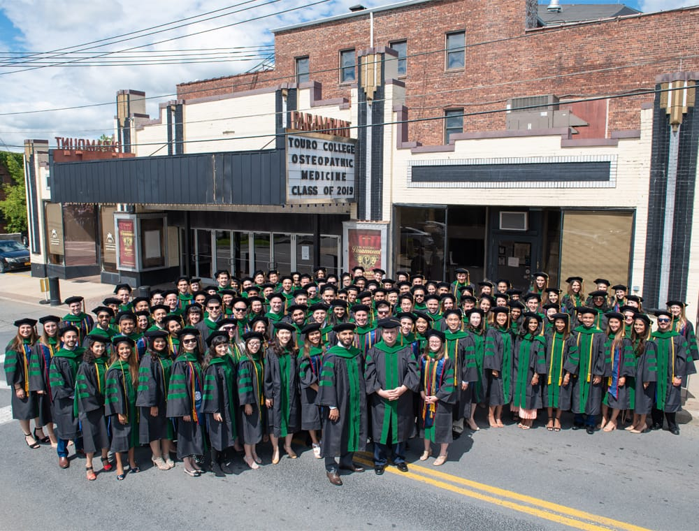 Touro College of Osteopathic Medicine, Middletown Campus, Class of 2019
