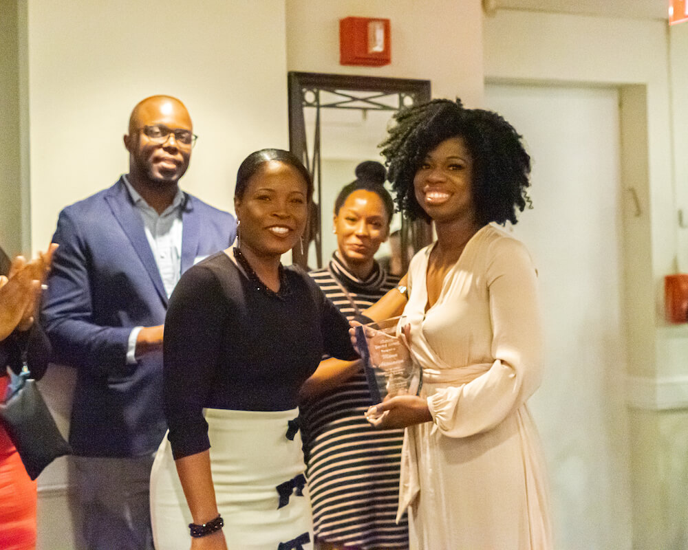 TouroCOM Harlem alumna Jemima Akinsanya received the school's first-ever Alumni Award.