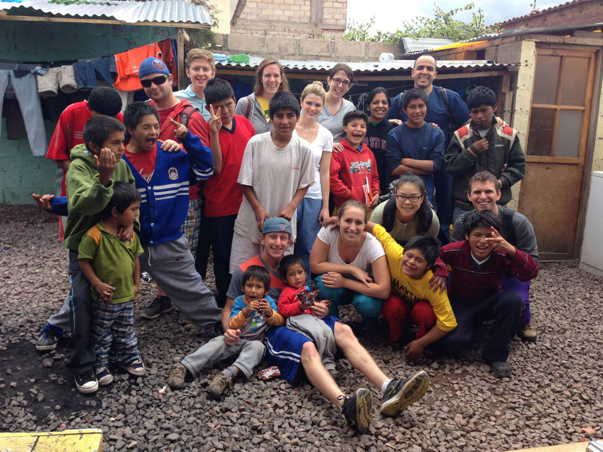 First- and second-year students at TouroCOM visited Peru in December, working with patients in a health clinic and at an orphanage.