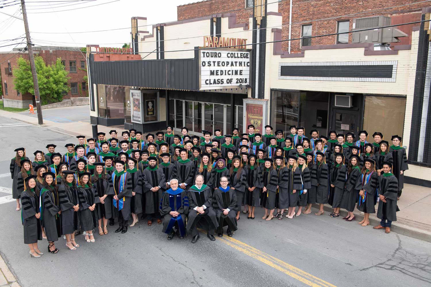 Congratulations to TouroCOM Middletown\'s first graduating class